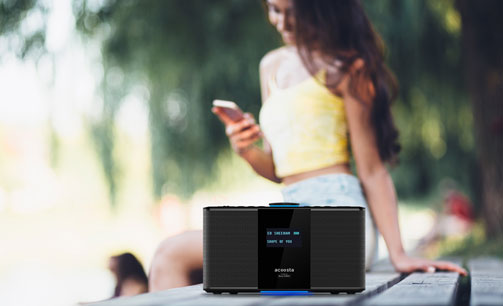 Acoosta Audio - Portable Bluetooth Speakers & Digital Music Player
